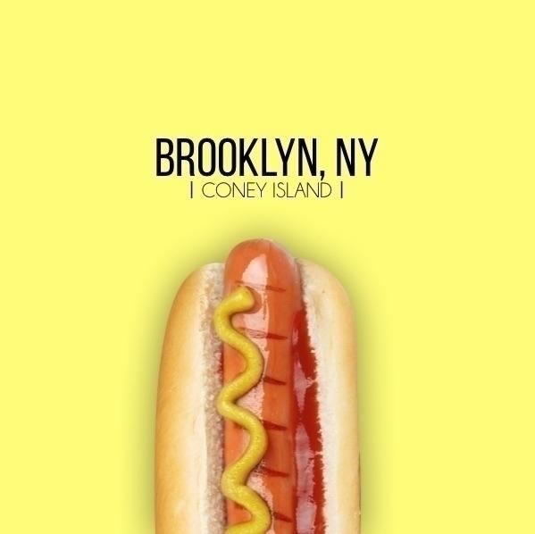 Coney Island brooklyn design gr - jakesmelker | ello