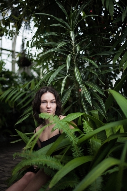 portrait floral green jungle ph - thejonkennedy | ello
