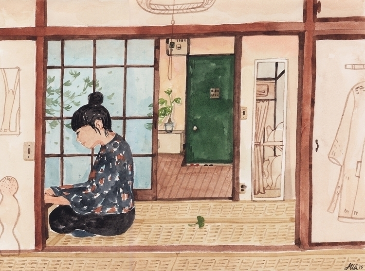 A traditional Japanese home Yok - patternsandportraits | ello