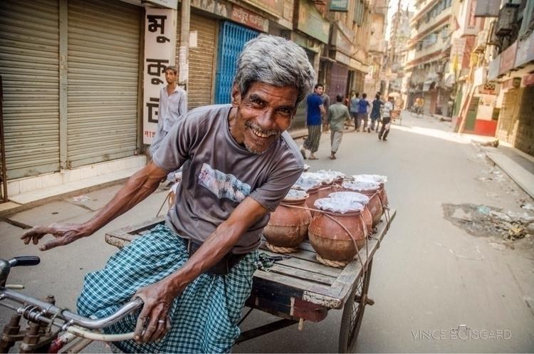 Right heart dhaka, rickshaw wal - vinceboisgard | ello