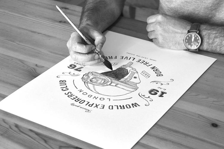 illustration drawing pencil hel - heymikel | ello