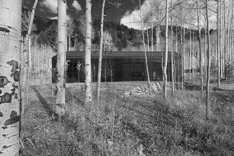 Retreat Aspen Grove Cottage Bla - alpinemodern | ello