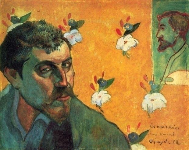 "Paul Gauguin, Self-Portrait, ""L - daultondickey   ello"