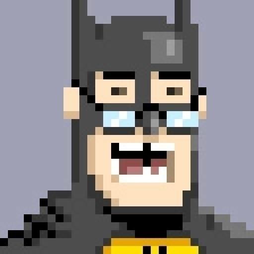 BatNerd pixel pixelArt buddy Bi - jdunn   ello