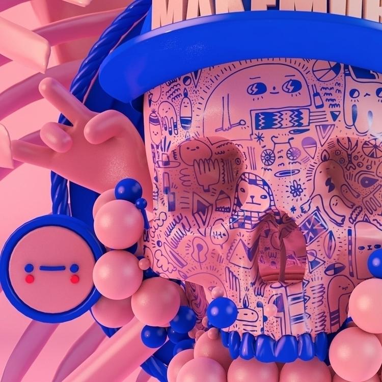 3D ello3d C4D - makemorestudio | ello