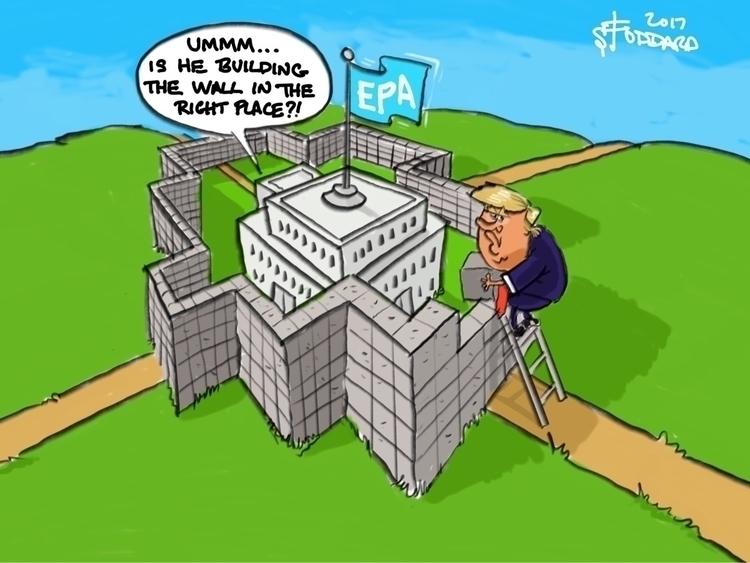 Wrong Wall illustration, editor - sstoddard | ello