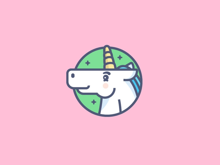 Words unicorns 🦄 unicorn illust - mariojacome | ello