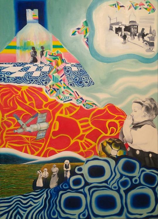 Origins Oil canvas elloart art  - peytonrack | ello