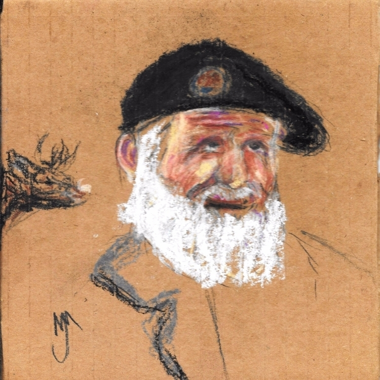 Spanish Civil War Veteran, Past - clan_morrison_art | ello