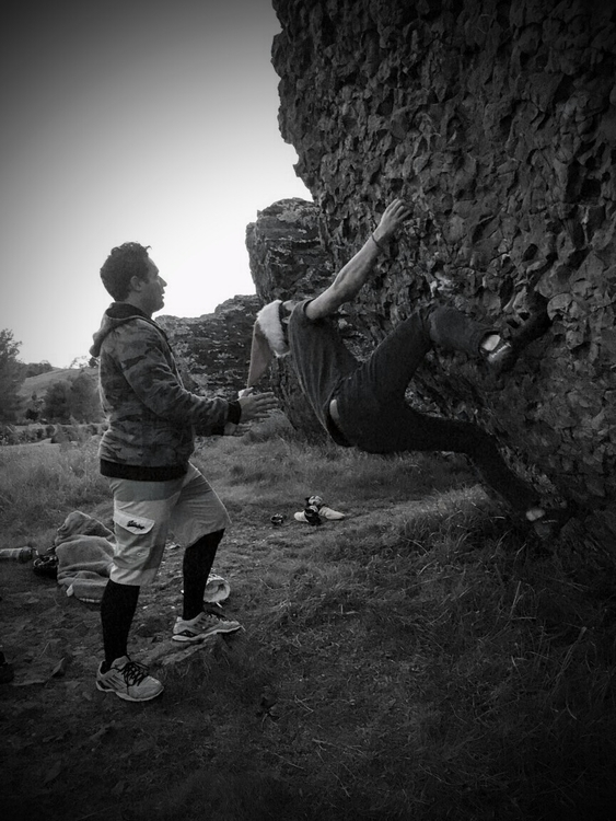 Christmas Day bouldering friend - ryanthehawaiian | ello