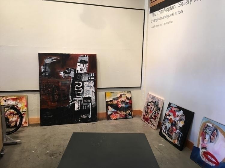 My show Portland Oregon opens T - melissamonroeart | ello