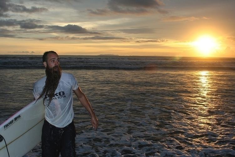 Trevor Sunset. Jaco, Costa Rica - 1975ish | ello