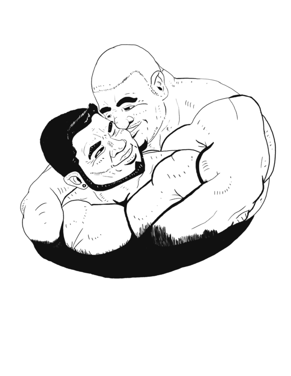 illustration love pride male wa - keegan-doubled | ello