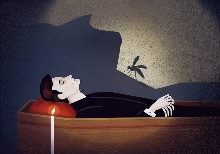 Karma Dracula mosquito revenge  - marcomelgrati | ello