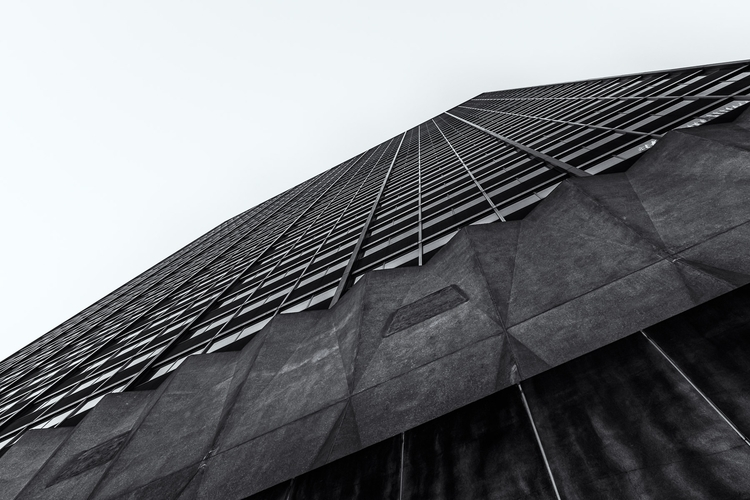 Skyward Grid Abstract exterior  - mattgharvey | ello