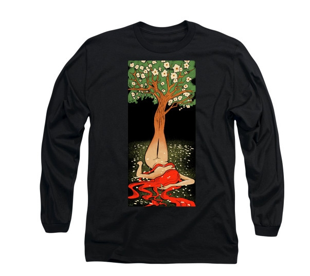 Living Tree long sleeved tee. w - littlebunnysunshine | ello