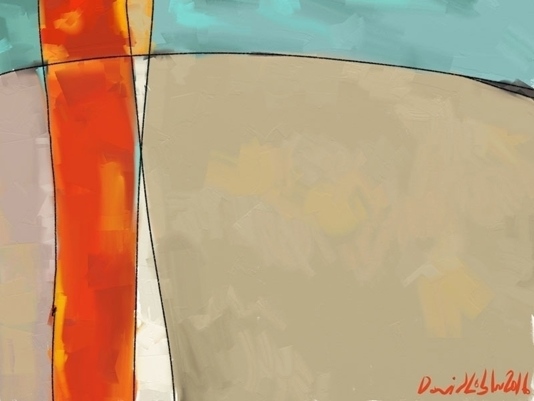 Newish Abstract created artrage - lobber66 | ello