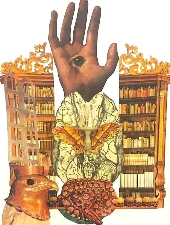 """Land Dreams"" collage Bonnie Cu - arcanememory | ello"