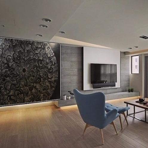 Interior design. painting backg - yellabor | ello