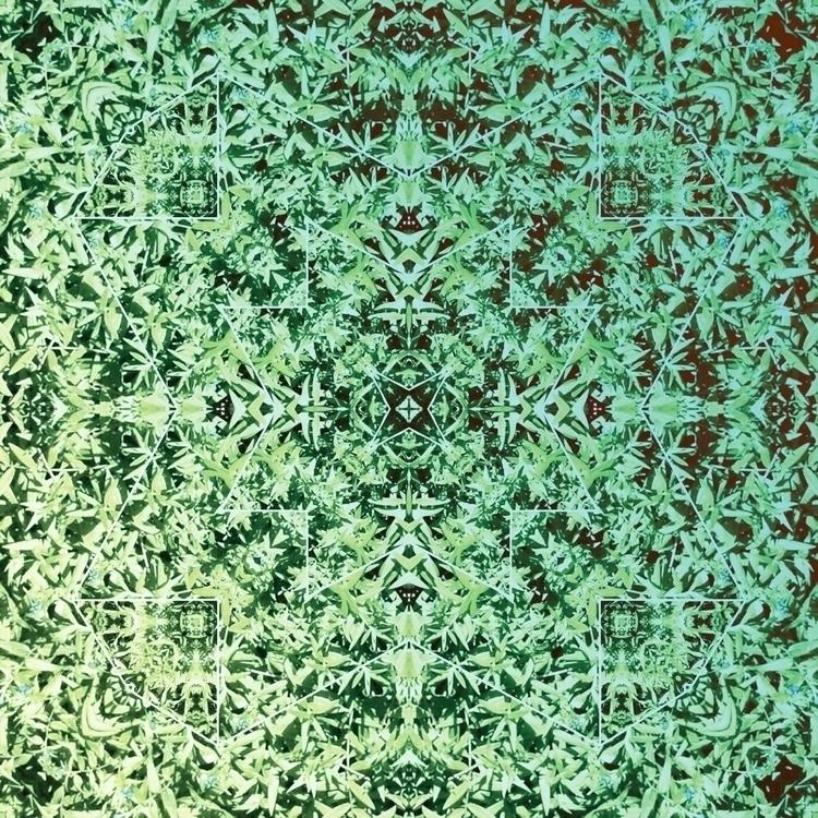 pattern nature foliage mandala - neztha | ello