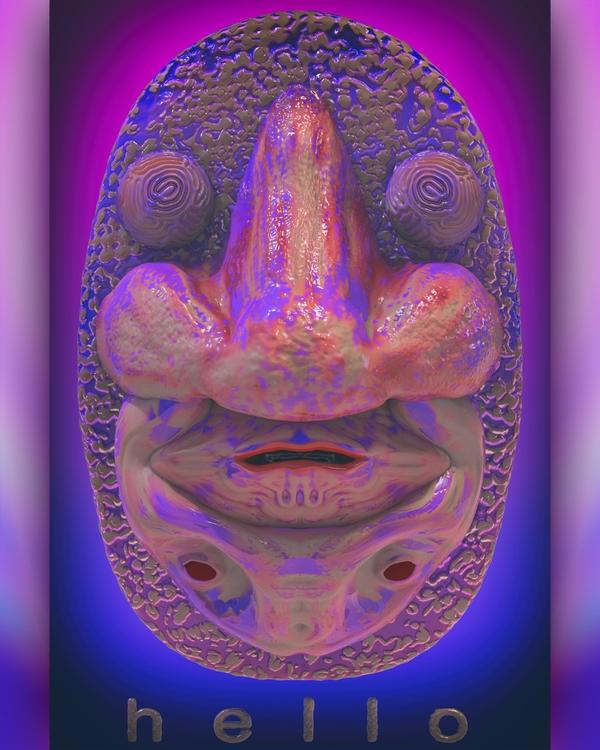 3D art digitalart zbrush elloar - frank_yunker | ello