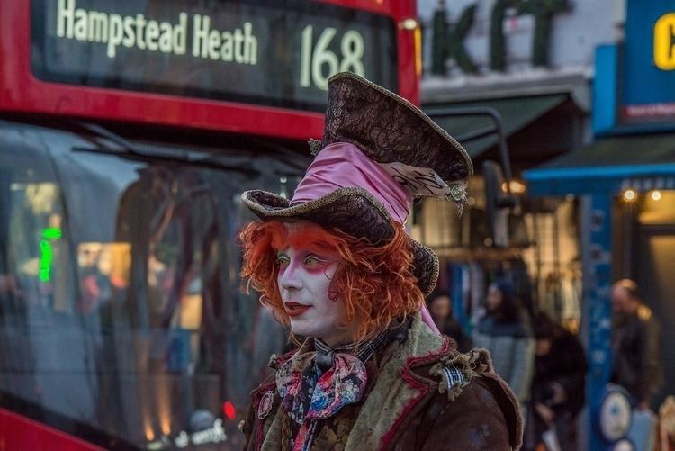 Mad Hatter, Camden Town, London - toshmarshall | ello