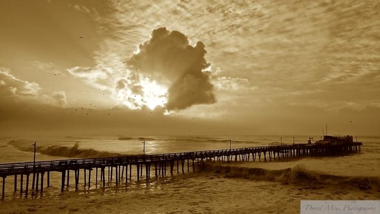 Sepia Sunrise, Capitola Sea Mon - chinquapin | ello