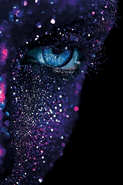 """Queen Galaxy"" — Photographer:  - darkbeautymag | ello"