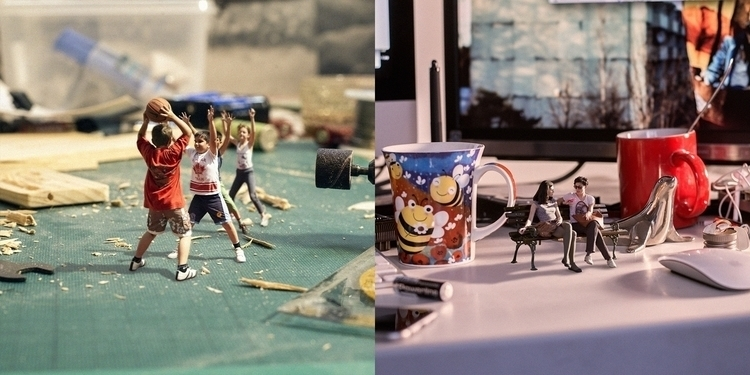 works surreal 'Tiny world' comp - akseli | ello