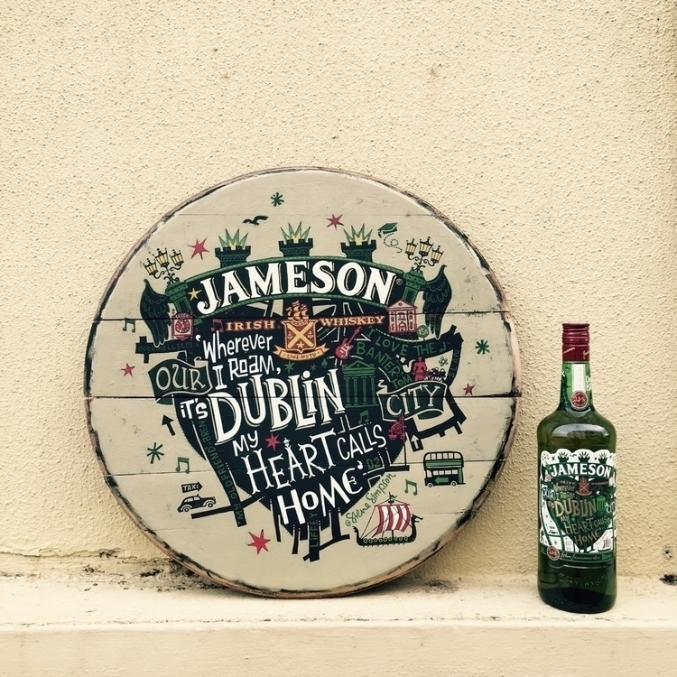 Whiskey barrel head based 2015  - stevesimpson | ello