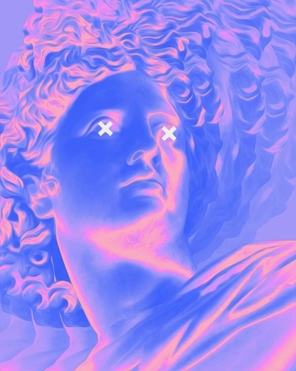 Coy digitalart abstract artdail - dorianlegret | ello
