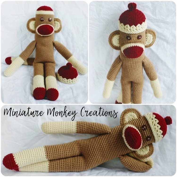 Happy Sunday! monkey share tomo - miniaturemonkeycreations | ello
