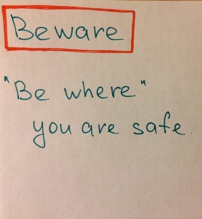 BEWARE cautious alert risks dan - rnkorneeva | ello