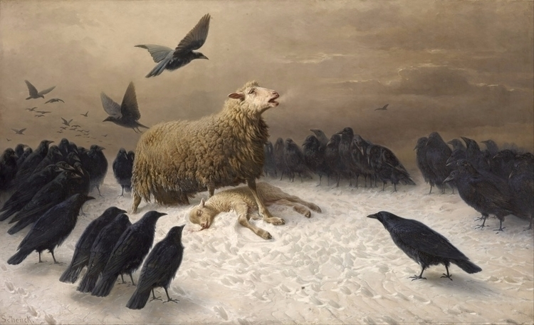 Anguish, Friedrich Albrecht Sch - miguelarias | ello