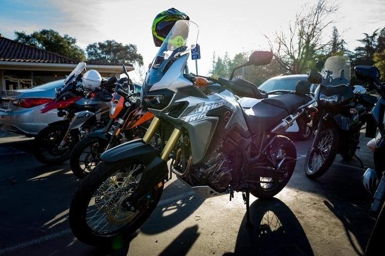 Africa Twin (2017) friend bike. - marchyman | ello