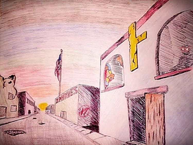...empty street, full mischief. - zthafuture | ello