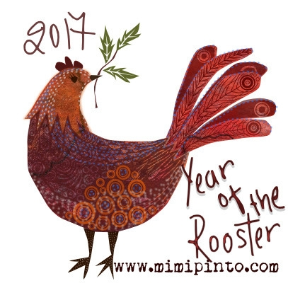 year rooster chinesenewyear sur - mimi-pinto | ello