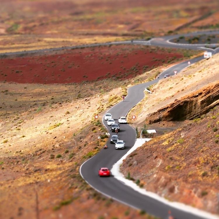 tiltshift road lanzarote - grove | ello