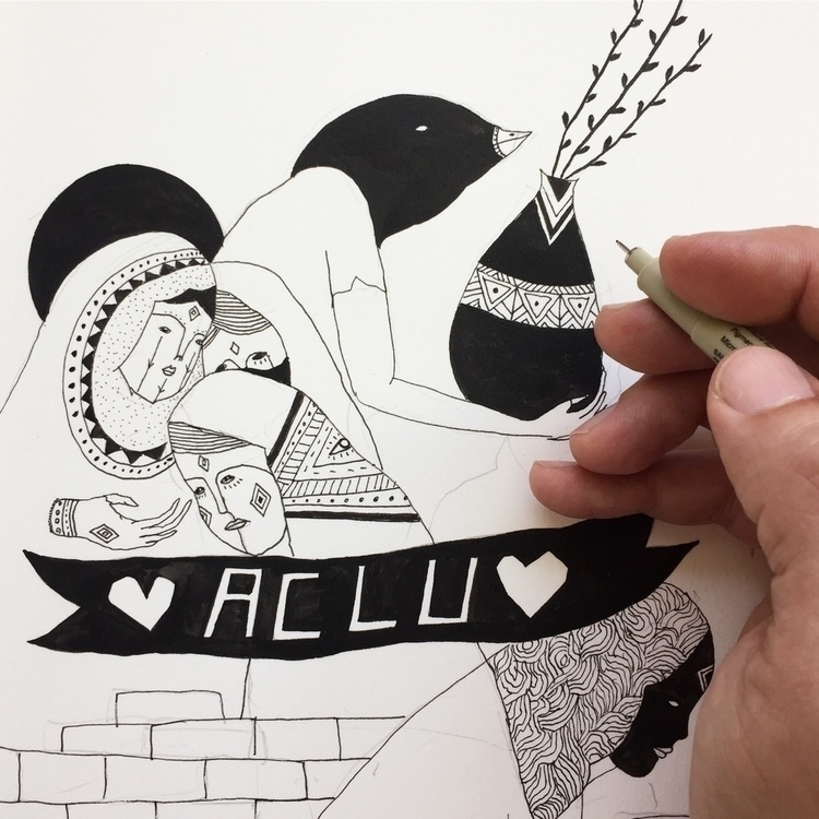 ACLU ! - adrianlandonbrooks | ello