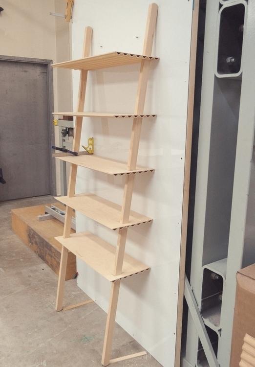 leaning shelf prototype finally - studiocorelam | ello