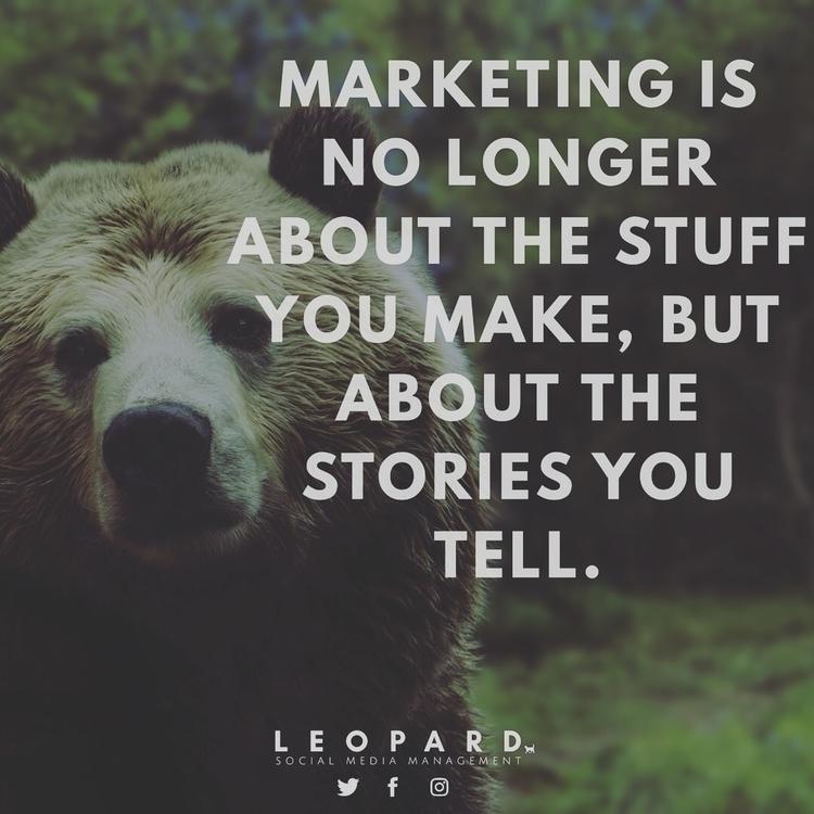 Marketing longer... | 🐻 work su - medialeopard | ello
