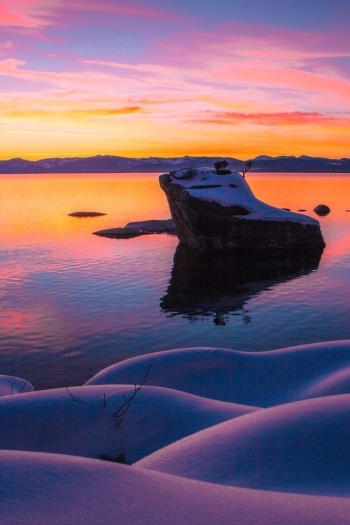 Cotten Candy Skies Lake Tahoe 🍭 - saintnickolas | ello