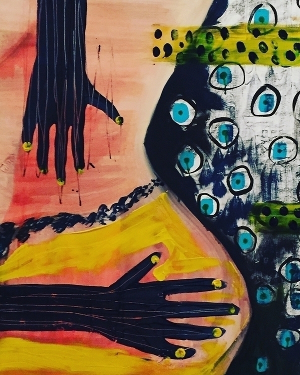 Beautiful art work member Brook - conartistcollective | ello
