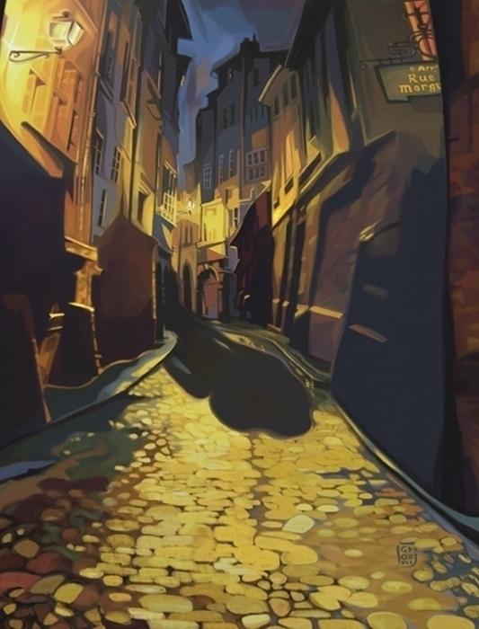 cover Murders Rue Morgue, Princ - canuivan | ello