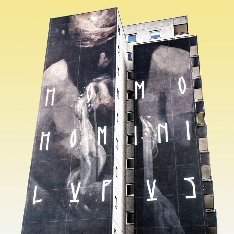 Homo homini lupus man wolf man, - sandromartini | ello