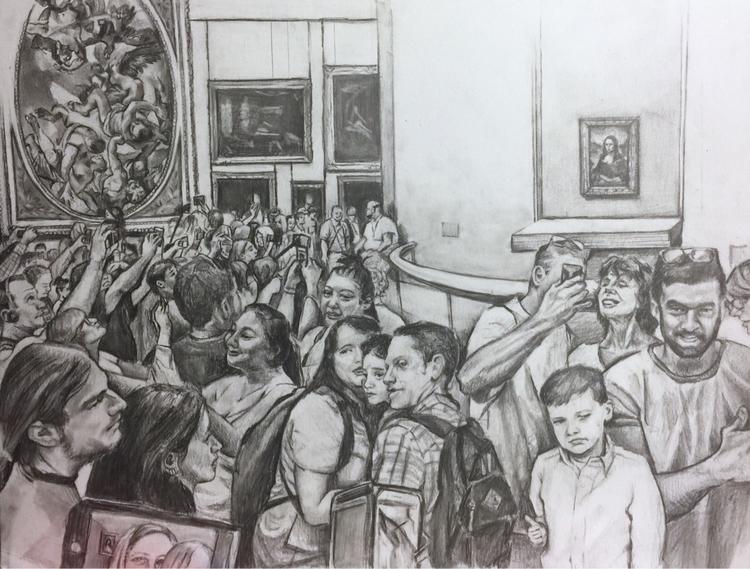Fall, family visited Mona Lisa  - candiceflew | ello