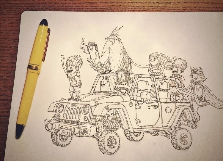 pen, drawing. Sailor 1911 Stand - junkyardsam   ello