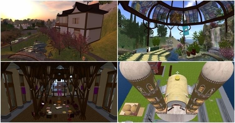 "4 Virtual Spaces Life"" SecondLi - valosalo | ello"