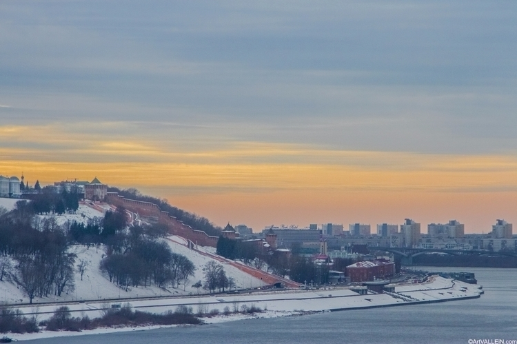 Nizhny Novgorod sunset - vallein   ello