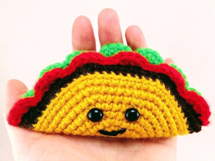 Happy TacoTuesday! cuddly, taco - miniaturemonkeycreations | ello